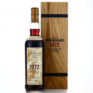 Macallan 1972 Fine and Rare 29 Year Old #4041