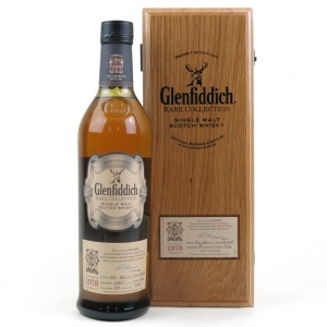 * Glenfiddich 1978 Rare Collection 34 Year Old MORE PICS