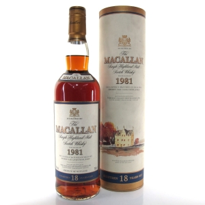 Macallan 18 Year Old 1981