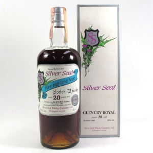 Glenury Royal 1980 Silver Seal 20 Year Old