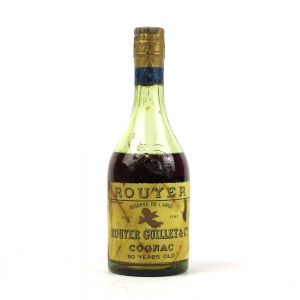 Rouyer Guillet and Co Cognac 50 Year Old Half Bottle / Low Fill