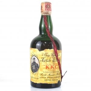 K.K.C. Brand Very Rare Scotch Whisky 1960s