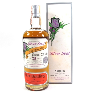 Ardbeg 1972 Silver Seal 28 Year Old / First Bottling