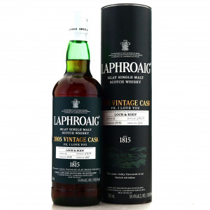 Laphroaig 2005 Vintage Cask 'PX I Love You' 75cl / Loch & Key