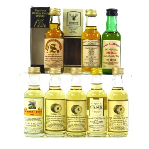 Closed Speyside Miniature Selection 8 x 5cl