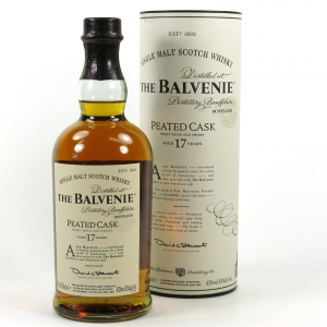 Balvenie 17 Year Old Peated Cask Front