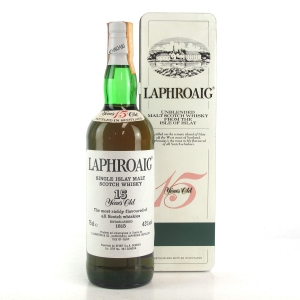 Laphroaig 15 Year Old 1980s / Spirit Import
