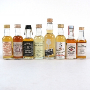Miscellaneous MIniature Selection 8 x 5cl
