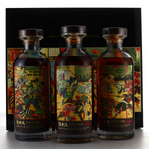 Karuizawa 1986-1988 Fight Club Collection 3 x 70cl
