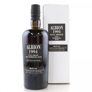 Albion 1994 Full Proof Demerara Rum 17 Year Old