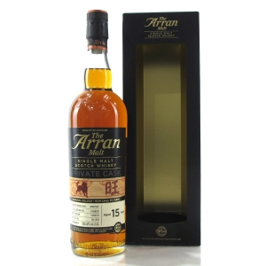 Arran 2002 Private Cask 15 Year Old / Year Of the Dog