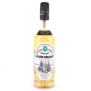 Glen Grant 1986 5 Year Old / Seagram Italia Import