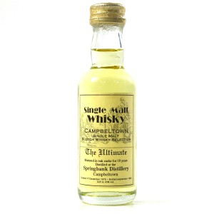 Springbank 1975 The Ultimate 18 Year Old Miniature 5cl