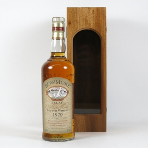 Bowmore 1970 Thirtieth Anniversary of Suntory London Office 30 Year Old Front
