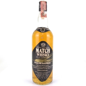 Match Whisky 8 Year Old 1980s