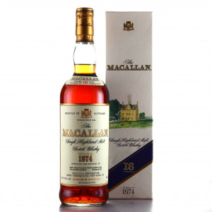 Macallan 1974 18 Year Old 75cl / US Import