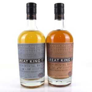 Compass Box Great King Street Experemental Batchs 2 x 50cl