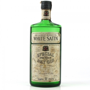 White Satin Special Dry Gin 1980s