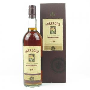 Aberlour 18 Year Old Sherrywood Matured US Import