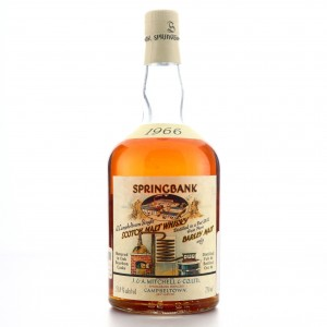 Springbank 1966 Bourbon Cask #472 75cl / Local Barley - US Import