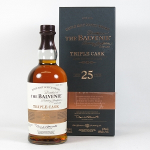 Balvenie 25 Year Old Triple Cask (Travel Retail Exclusive) front