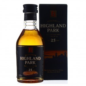 Highland Park 25 Year Old Miniature 5cl early 2000s / 50.7%