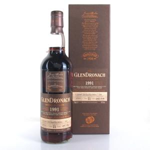 Glendronach 1991 Single Cask 21 Year Old #5409