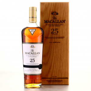 Macallan 25 Year Old Sherry Oak 2018 Release 75cl / US Import