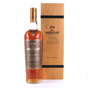 Macallan Edition No 1 / Wooden Box