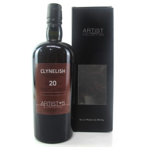 Clynelish 1995 Artist Collection 20 Year Old