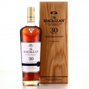 Macallan 30 Year Old Sherry Oak 2019 Release 75cl / US Import