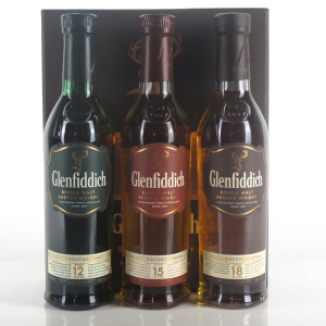 Glenfiddich Gift Pack 3 x 20cl