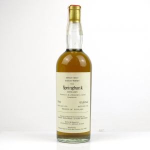 Springbank 1958 Duthie for Corti