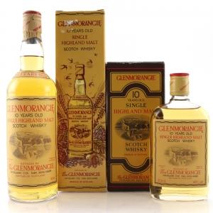 Glenmorangie 10 Year Old 1980s / Including Half Bottle