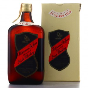 Paterson's 1937 De Luxe Irish Whiskey 27 Year Old