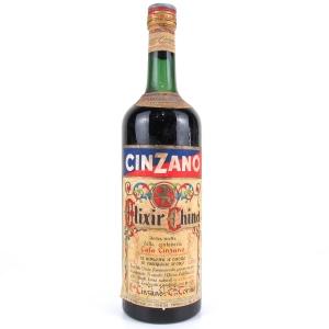Cinzano Elixir China 1 Litre Circa 1950's