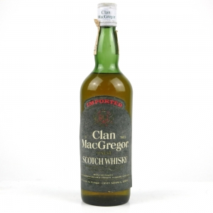 Clan Macgregor Finest Scotch Whisky 1980s