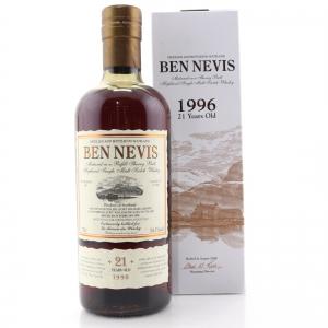 Ben Nevis 1996 Single Cask 21 Year Old #75 / LMDW