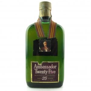 Ambassador Twenty-Five 25 Year Old Scotch Whisky 1970s / US Import