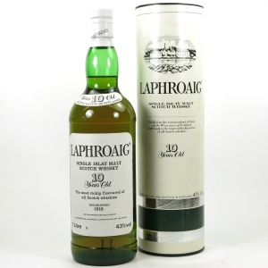Laphroaig 10 Year Old 1980s 1 Litre