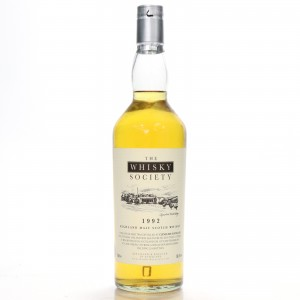 Clynelish 1992 Whisky Society 15 Year Old