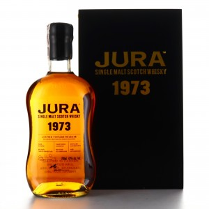 Jura 1973 Single Cask 45 Year Old #1 / Wealth Solutions Black Edition