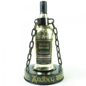Ardbeg Auriverdes Gold Edition / Including Bottle Stand and Ardbeg Day T-Shirt