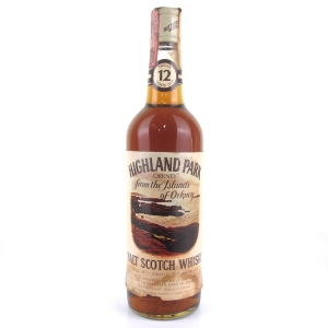 Highland Park 12 Year Old 1970s / Ferraretto Import