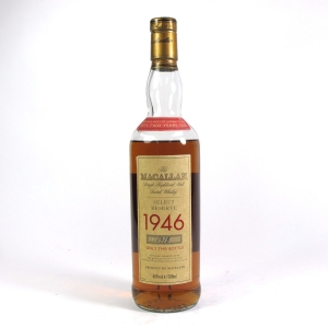 *Macallan 1946 Select Reserve 52 Year Old / Low Fill