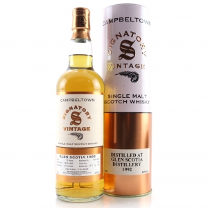 Glen Scotia 1992 Signatory Vintage 13 Year Old