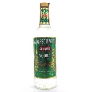 Wolfschmidt Genuine Vodka Circa 1980s