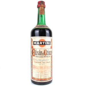 Martini Elixir di China 1 Litre 1970s