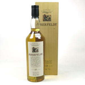 Aberfeldy 15 Year Old Flora and Fauna Boxed