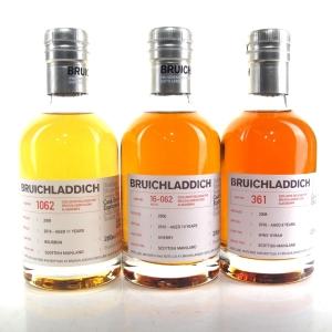 Bruichladdich Micro Provenance Tasting #4 3 x 20cl